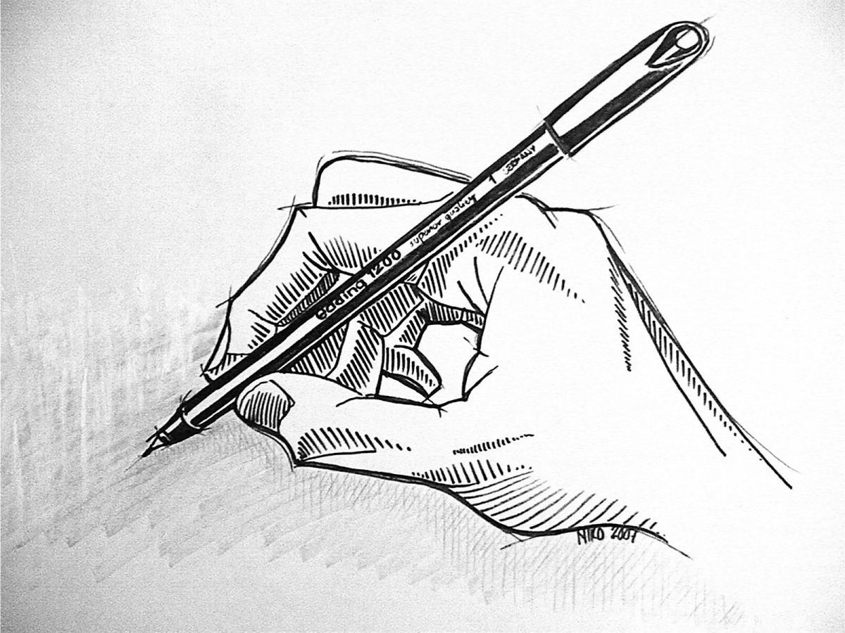 Niko Nyman - Hand drawing