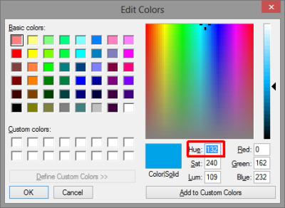 hue variation
