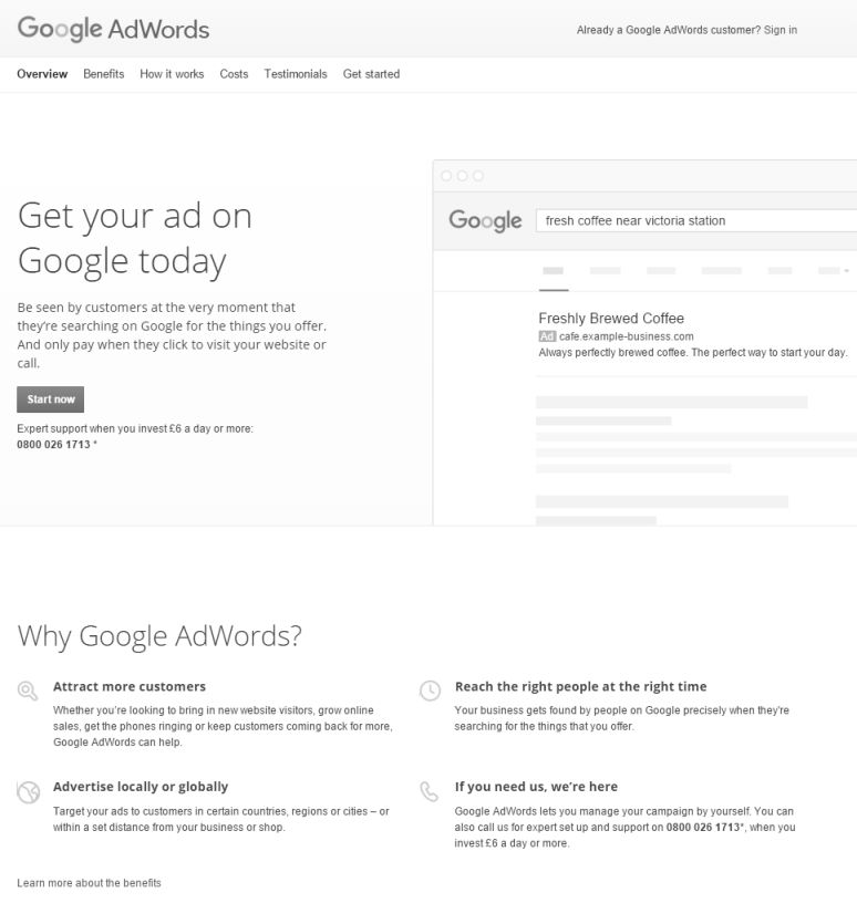 google-adwords-homepage