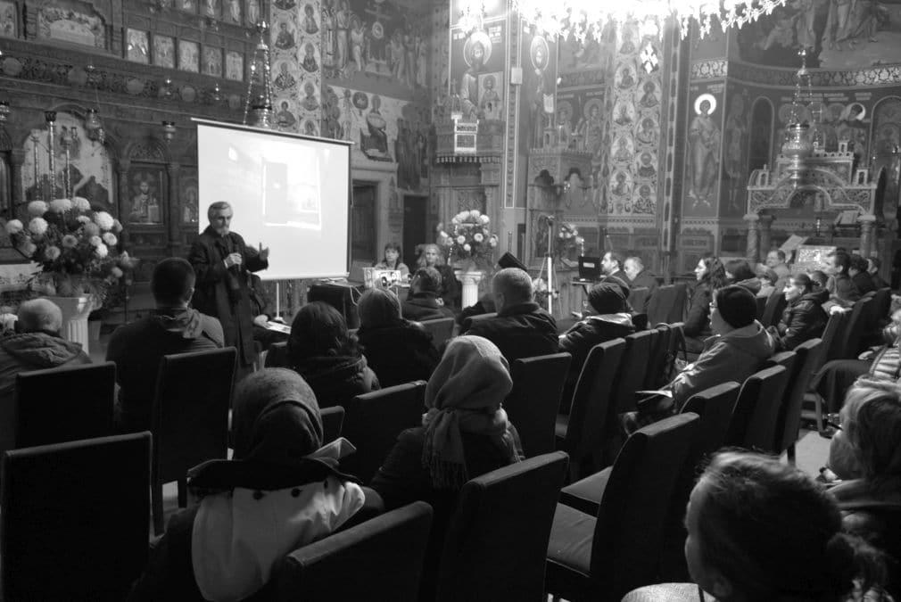 """Follow-up: seară duhovnicească: """"Pr. Constantin Voicescu ..."""
