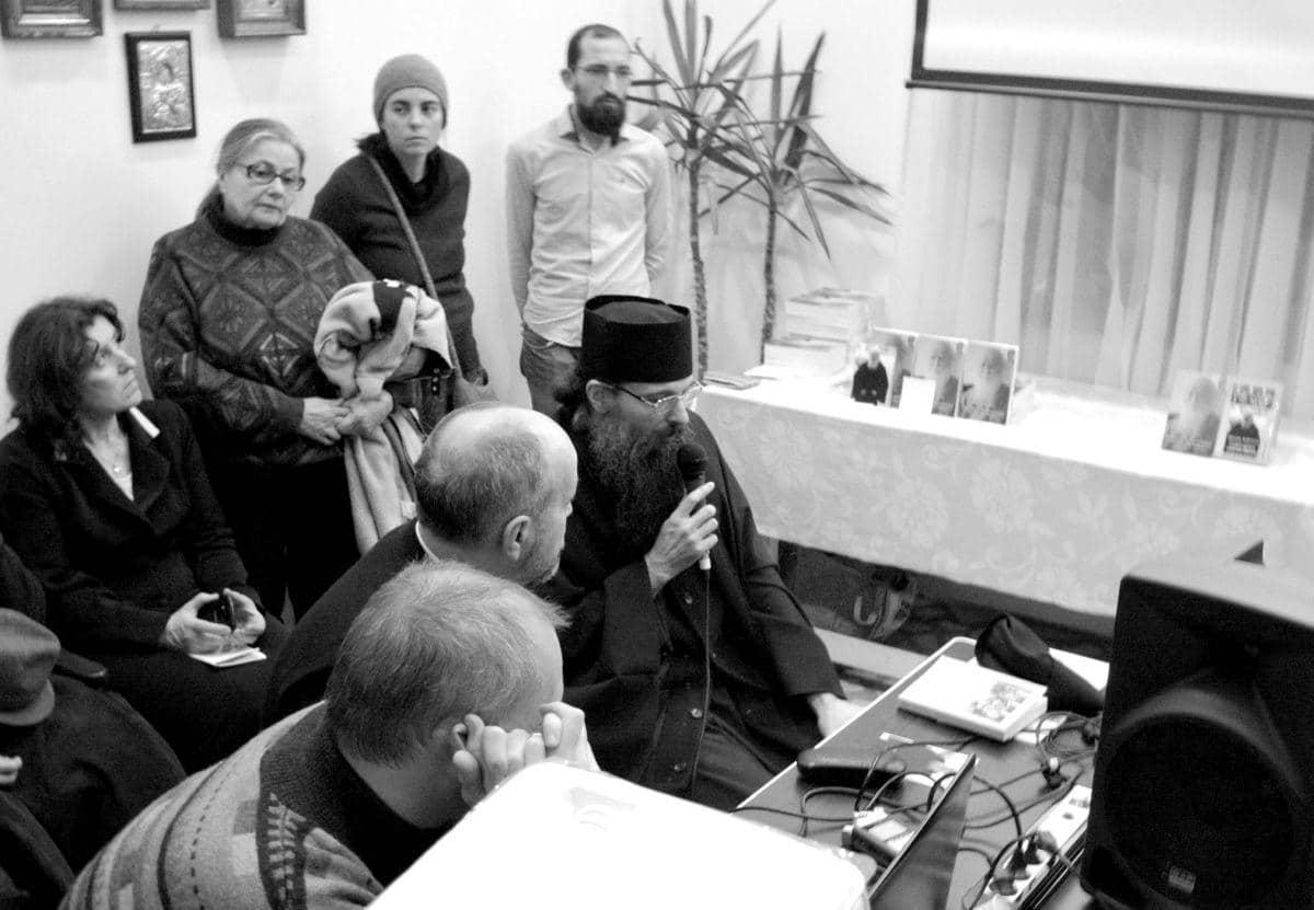 Conferință pr. arhim. Sofian Boghiu