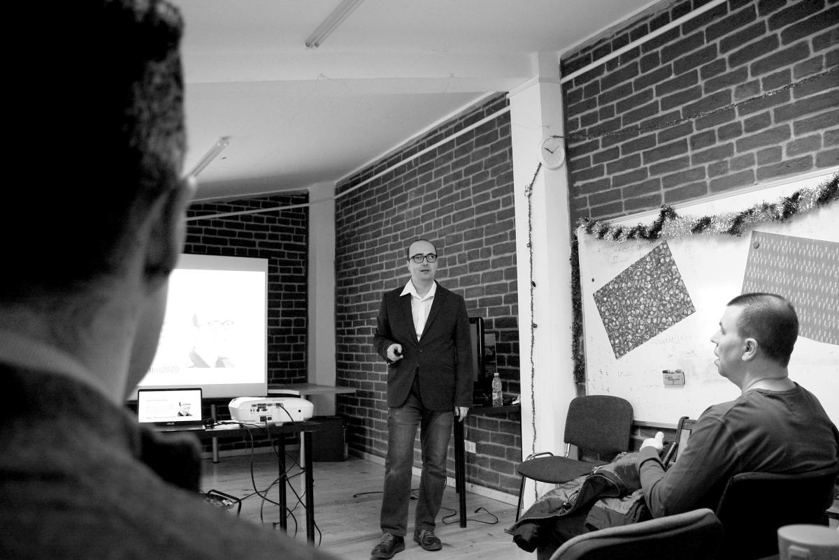 Workshop Olivian Breda - Casa Activistului