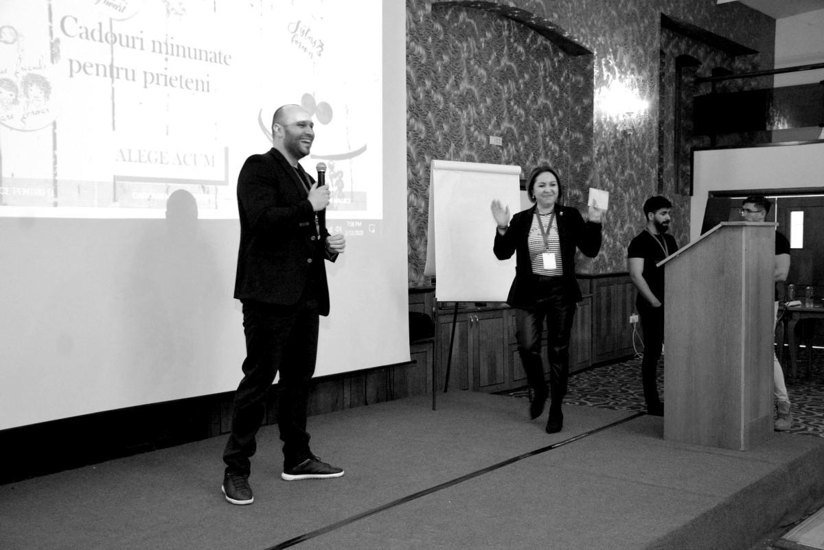 Cosmin Dărăban și Ennifer Marinescu