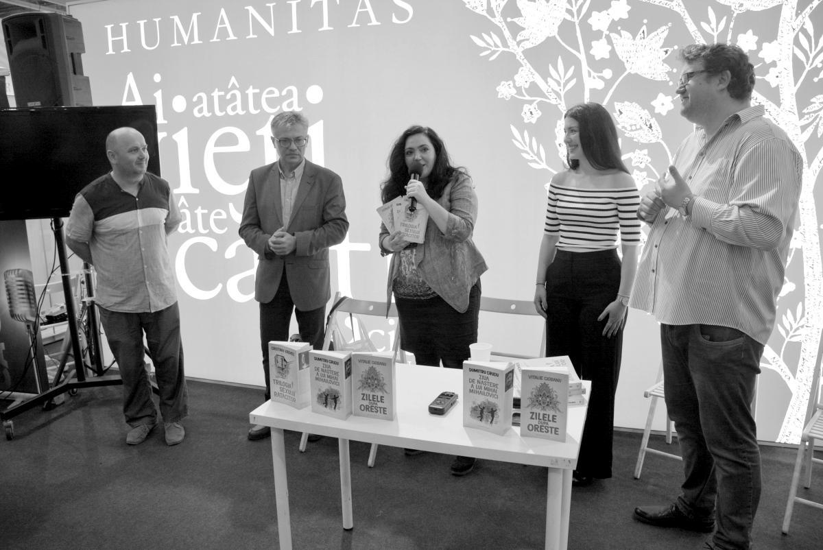 Vitalie Ciobanu, Dumitru Crudu, Cristina Vremeș, Doru Căstăian, Andreea Răsuceanu