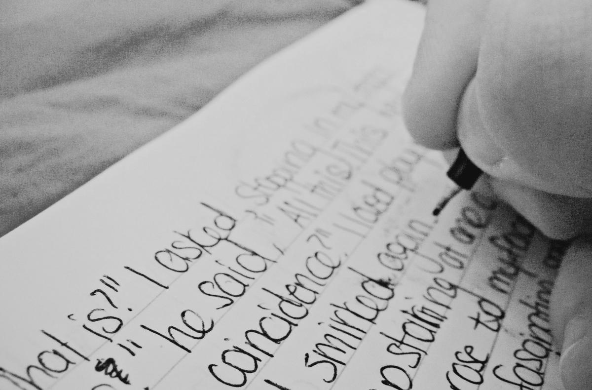 Nilufer Gadgieva - Writing Forever
