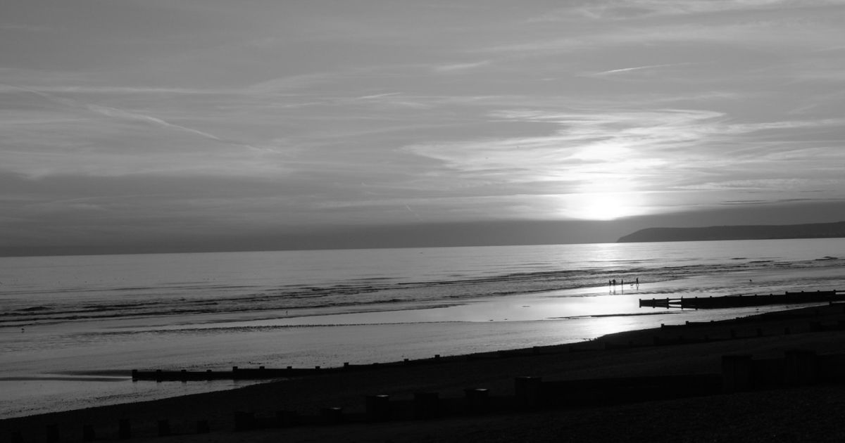 Tony Hammond - Light at Full Stretch on Bexhill Beach