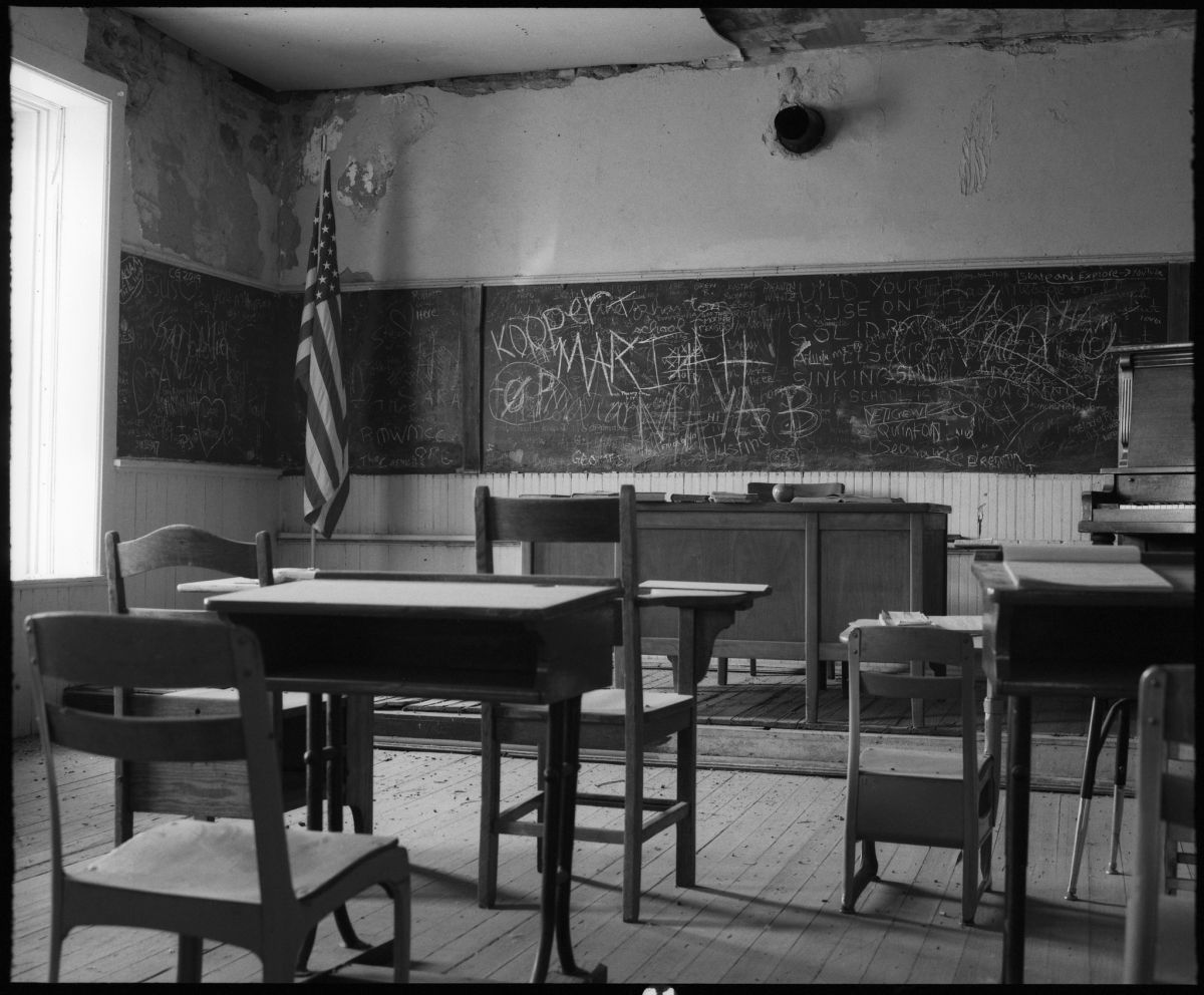 Conspiracy of Cartographers - Granite School, Wyoming